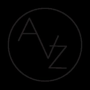 černobílé logo ateliéru Vlaďky Zborníkové